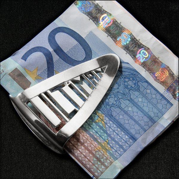 Pince à billets Ultiman en argent