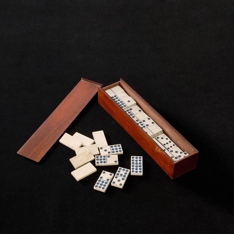 Domino Double 9 Ivoire